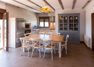 Casa Rural Monfragüe 12. cocina comedor pp