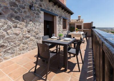 Casa Rural Monfragüe 6. terraza