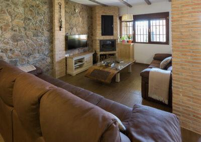 Casa Rural Monfragüe 8B. salon 1 pb