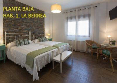 Casa Rural Monfragüe hab berrea 1