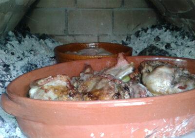 Casa Rural Monfragüe horno2